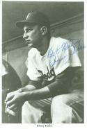 Johnny Podres Brooklyn dodgers Autographed Baseball Photo 4/6 card