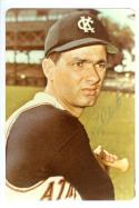 Rocky Colavito Kansas City Athletics Autographed Baseball Photo