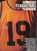 Converse 1973 Basketball Yearbook 52nd Edition