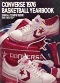Converse 1976 Basketball Yearbook 55th Edition