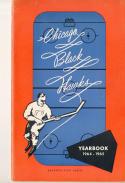 1964 Chicago Black Hawks NHL Media press Guide nm