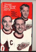 1969 - 1970 Detroit Red Wings Fact Book  press Media guide