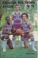 1978 Georgia Southern Eagles College Basketball Press Media Guide
