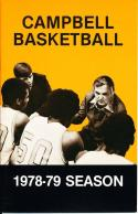 1978 Campbell College Basketball Press Media Guide