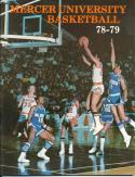 1978 Mercer University College Basketball Press Media Guide