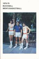 1978 Bucknell Bisons College Basketball Press Media Guide