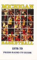 1978 Michigan College Basketball Press Media Guide