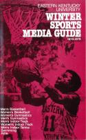 1978 Eastern Kentucky University Winter Sports Press Media Guide