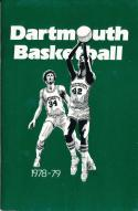 1978 Dartmouth College Basketball Press Media Guide