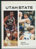 1984 Utah State Basketball Media Guide bkbx20