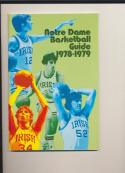 1978 Notre Dame Basketball Media Guide