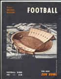 1961 Texas Western College football Guide El Paso
