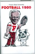 Football Media Guide 1980 -1981 Fresno State University nm -Box23