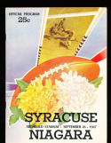 1947 9/26 Syracuse vs Niagrara  football program
