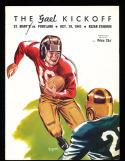 1941 10/19 St. Mary's vs Portland football program