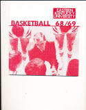 1968 Eastern Kentucky Unviersity Basketball Press Media Guide