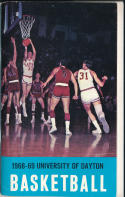1968 University of Dayton Basketball Press Media Guide em