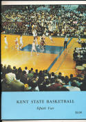 1968 - 1969 Kent State Basketball press Media guide