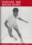 1968 - 1969 harvard Basketball press Media guide