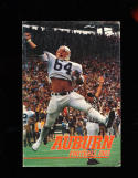 1983 Auburn Bo Jackson football Press Media Guide