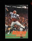 1983 Auburn Bo Jackson football Press Media Guide