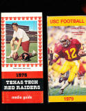 1979 USC Charles White football Press Media Guide