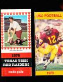 1979 USC Charles White football Press Media Guide