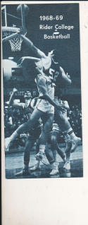 1968 - 1969 Rider Basketball press Media guide