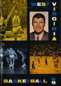 1968 - 1969 West Virginia Basketball press Media guide