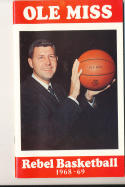 1968 - 1969 ole Miss Basketball press Media guide