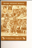 1968 - 1969 Western Michigan Basketball press Media guide