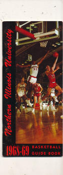 1968 - 1969 Northern Illinois University Basketball press Media guide