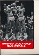 1968 - 1969 North Carolina State Basketball press Media guide