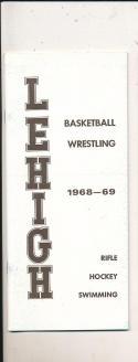 1968 - 1969 Lehigh Basketball press Media guide