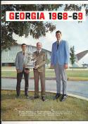 1968 - 1969 Georgia Basketball press Media guide