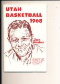 1968 - 1969 Utah Basketball press Media guide