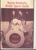 1968 - 1969 Boston University Basketball press Media guide