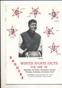 1968 - 1969 Wisconsin Basketball press Media guide