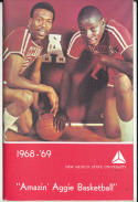 1968 - 1969 new Mexico State Basketball press Media guide