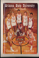1968 - 1969 ASU  Basketball press Media guide
