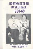 1968 - 1969 Northwestern Basketball press Media guide