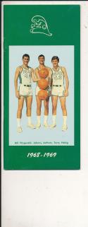 1968 - 1969 Tulane Basketball press Media guide