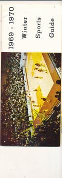 1969 - 1970 Virigina Tech University Basketball press Media guide bx69