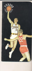 1969 - 1970 Purdue Rick Mount Basketball press Media guide - bx69