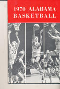 1969 - 1970 Alabama Basketball press Media guide - bx69