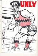 1969 - 1970 UNLV Basketball press Media guide - bx69