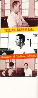 1969 - 1970 USC Basketball press Media guide - bx69