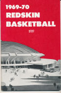 1969 - 1970 University of Utah Basketball press Media guide - bx69