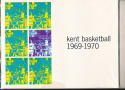 1969 - 1970 Kent University Basketball press Media guide bx69