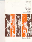 1969 - 1970 Bowling Green State Basketball press Media guide - bx69